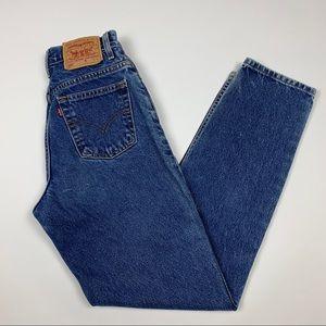 Vintage 90s Levi's High Waisted Denim Jean Pants